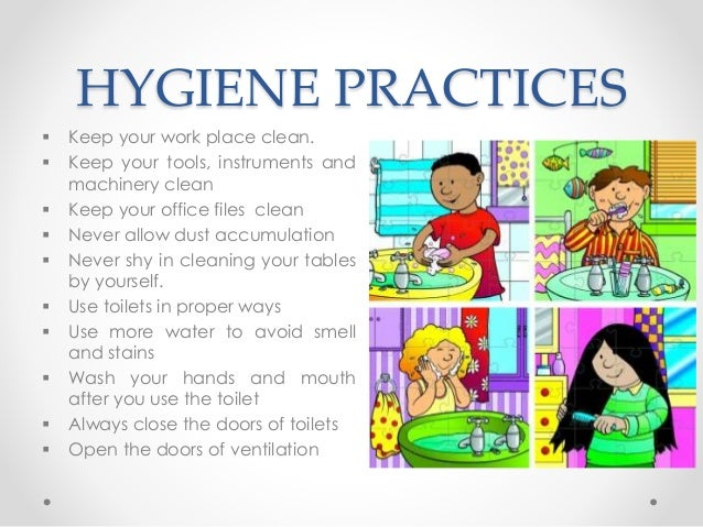 sanitation and personal hygiene Hygiene has to do with personal habits for bodily cleanlinesssanitation is about facilitating hygiene with clean surroundings hygiene and sanitation are mutually bound mental cleanliness is the basis of establishing sanitary conditions for hygi.