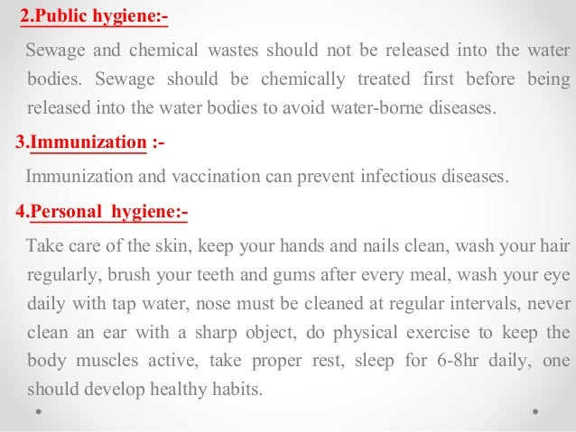 essay importance of healthcare and personal hygiene