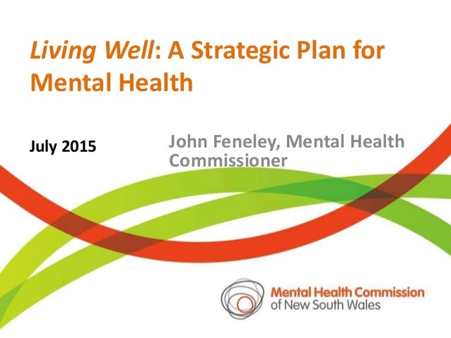 Healthier lives in the NDIS John Feneley Mental Health ...