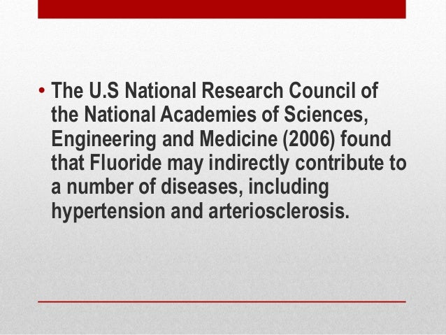 Fluoride Can Cause Degenerative Eye Diseases, Study Shows