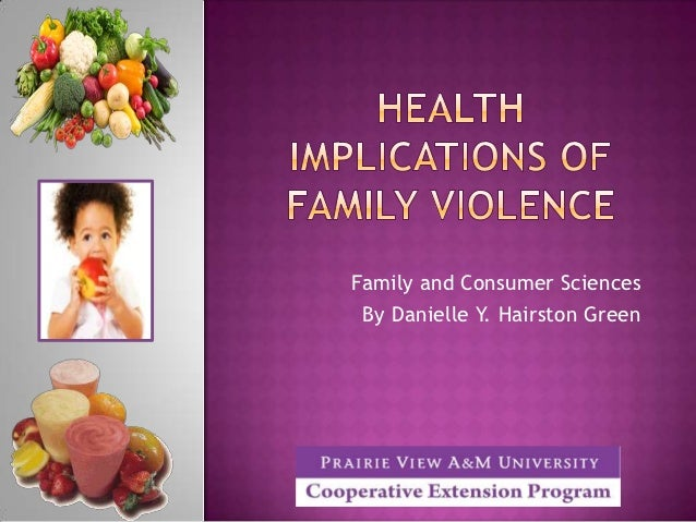 Family and Consumer Sciences By Danielle Y. Hairston Green