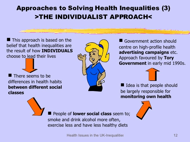 inequalities in health Inequalities in health have recently started to receive a good deal of attention in the developing world but how large are they and how large are the differences across countries.