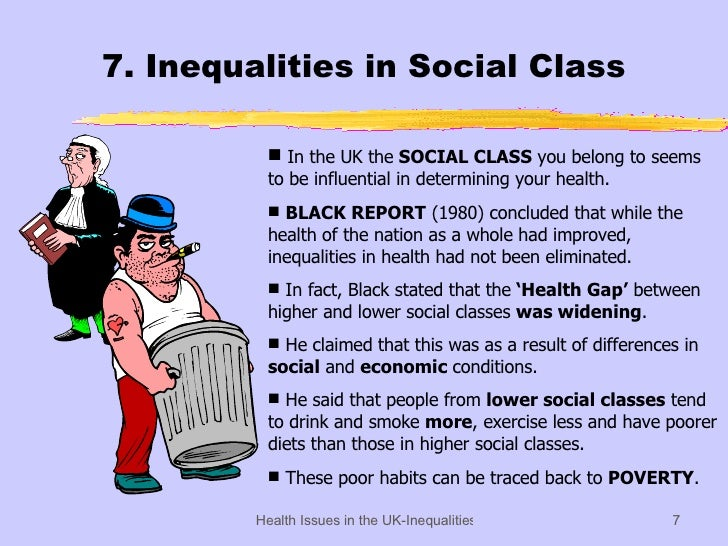 social inequality of health essay Threshold standards in order to pass this assessment you will need to: identify a public health issue where there is clear inequality(ies) in health.