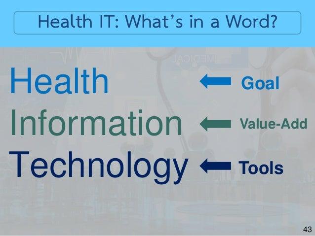 Health Informatics In Digital Healthcare