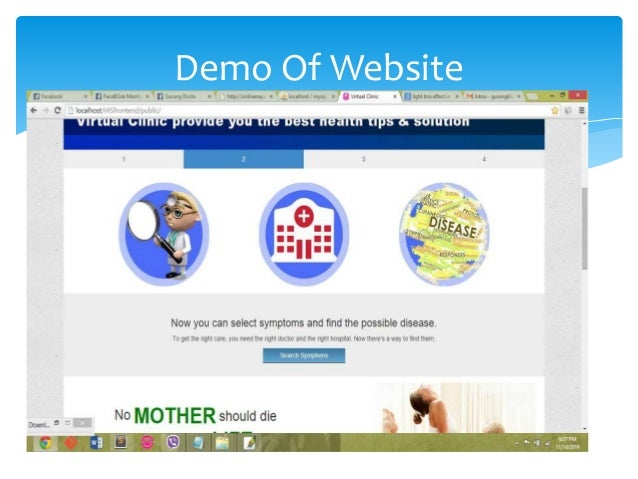 Demo Of Website