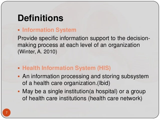An introduction to health care information system and its effects