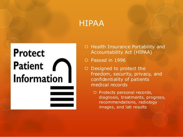 Security of medical information