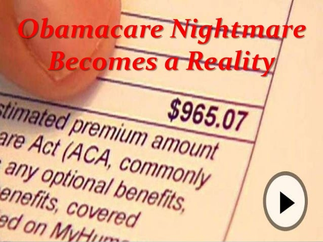 Obamacare Nightmare Becomes a Reality