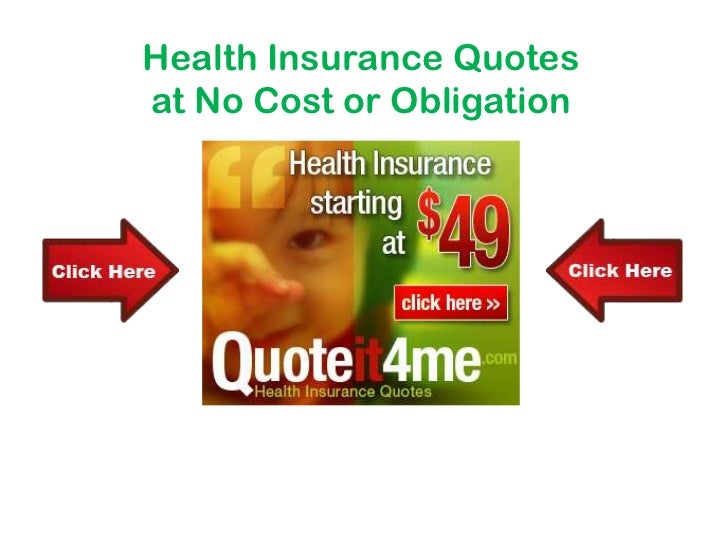 Health Insurance Quotes<br />at No Cost or Obligation<br />