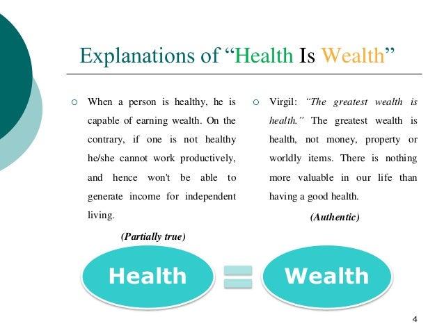 essay on health is wealth in hindi यहां आपको सभी कक्षाओं के छात्रों के लिए हिंदी भाषा में स्वास्थ्य ही धन है पर निबंध मिलेगा। here you will get paragraph and short essay on health is wealth in hindi language for students of all classes in 100, 300 and 450 words.