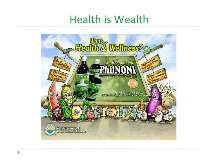 small essays on health is wealth