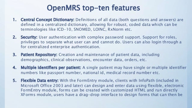 Health IT and OpenMRS