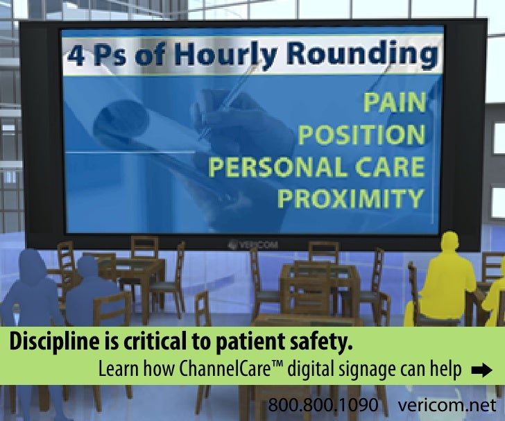 Discipline is critical to patient safety.           Learn how ChannelCare™ digital signage can help                       ...