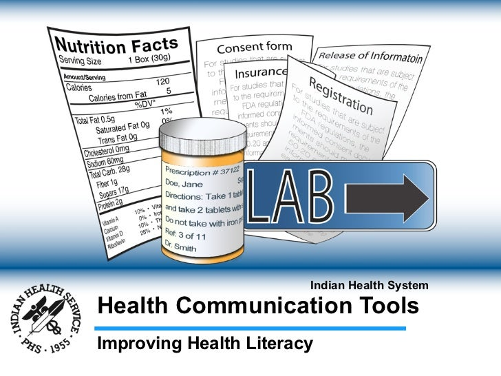 Indian Health SystemHealth Communication ToolsImproving Health Literacy