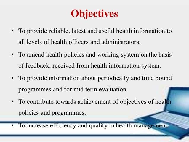 objectives of management information system pdf