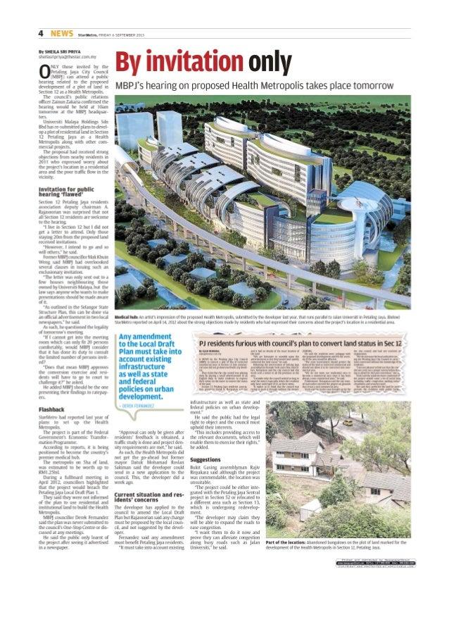 Health metropolis the star e paper   metro central - 6 sep 2013 - page #4