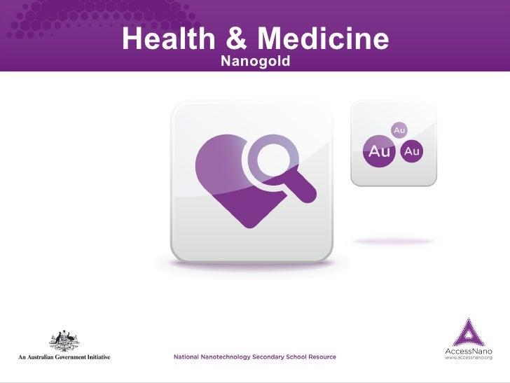 Health & Medicine Nanogold