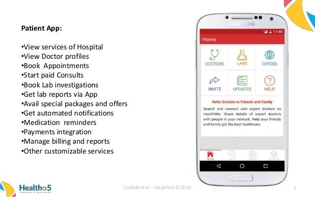 Patient engagement apps for Hospitals, India