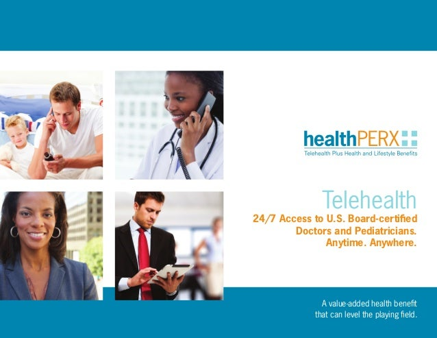 A value-added health benefit that can level the playing field.  Telehealth  24/7 Access to U.S. Board-certified Doctors an...