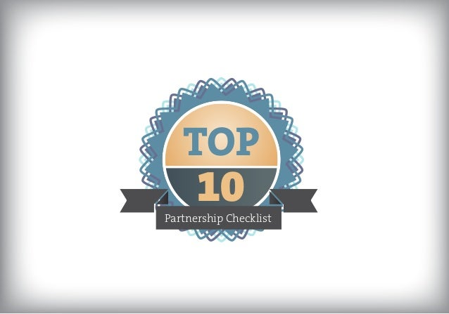 TOP  10  Partnership Checklist