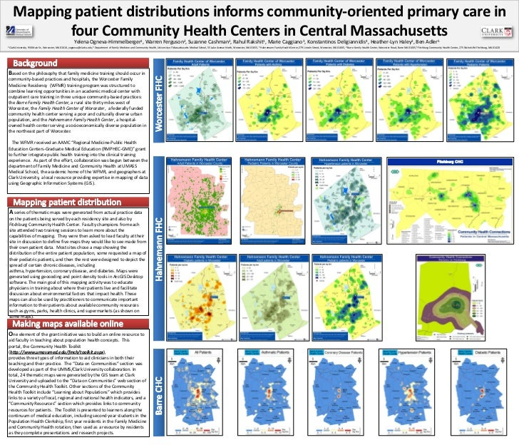 Mapping patient distributions informs community-oriented primary care in              four Community Health Centers in Cen...