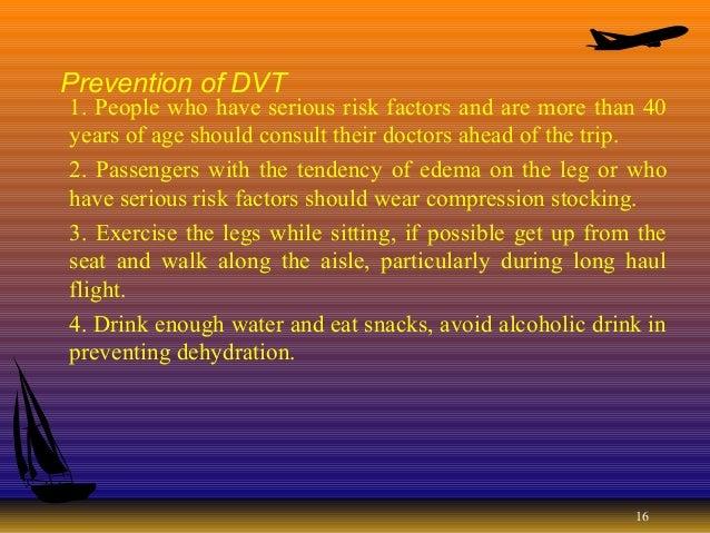 Reducing Air Travel Tiredness