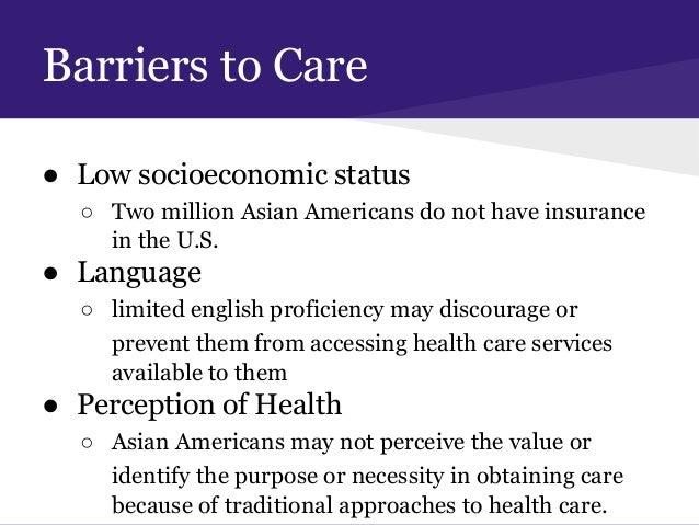 Health promotion asian american disparities