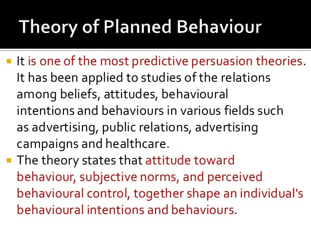 theory of planned behaviour psychology essay Journal of obesity is a peer-reviewed,  theories of behavioural change initially developed within social psychology have  the theory of planned behaviour.