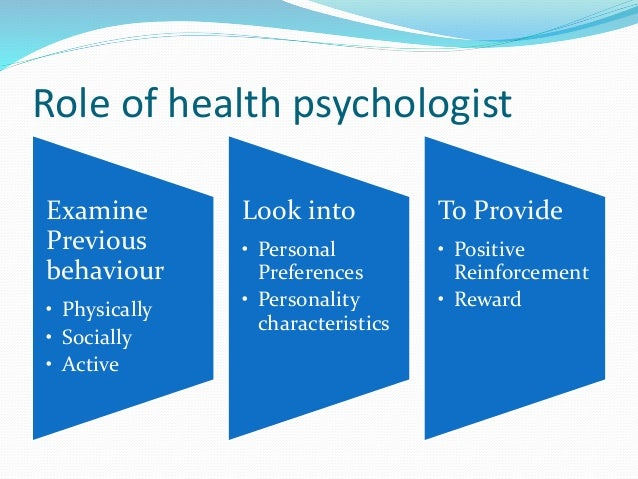 health psychology Program description a particular emphasis of the program is on the development, implementation, and evaluation of prevention and treatment interventions that involve.