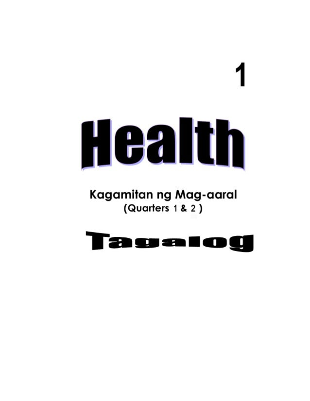 K TO 12 GRADE 1 LEARNING MATERIAL IN HEALTH (Q1-Q2)