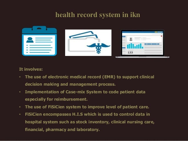 an argument in favor of implementing the electronic health records system Electronic health records raise new ethical concerns a major goal of electronic health records programs any system of ethics requires the locating of.
