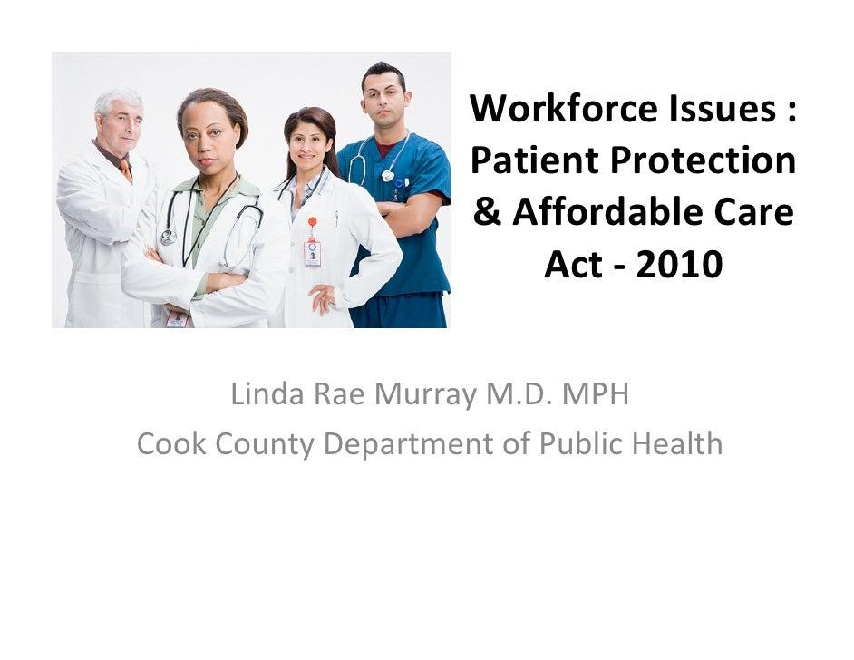 Workforce issues in nursing
