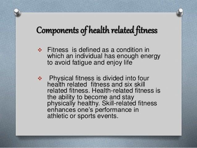 Health Components  Ef 81 B6cardiovascular Fitness