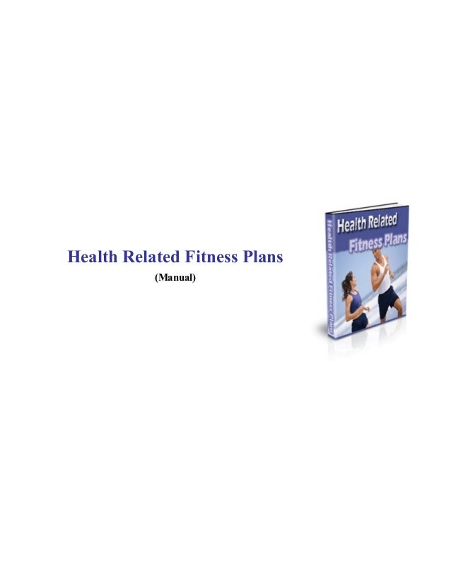 health fitness plans