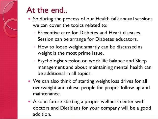 Health Risk Assessment  Sample Report