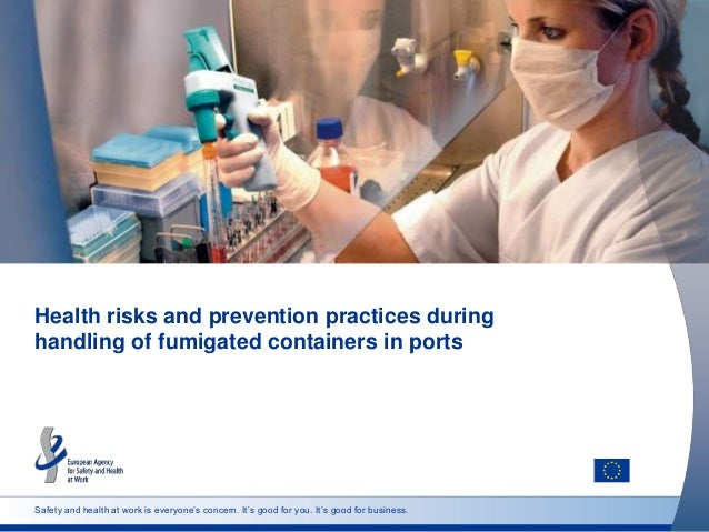 Safety and health at work is everyone's concern. It's good for you. It's good for business. Health risks and prevention pr...