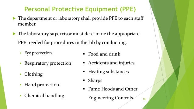Eye Protection  Eye injuries are horrifying, but preventable events.  Wisconsin law requires eye protection for all labo...