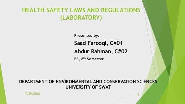 Contents  Introduction  Laboratory Hazards  Laboratory Safety  Personal Protective Equipment (PPE)  Fume hoods and ot...