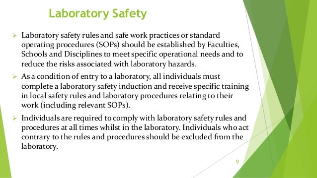Personal Protective Equipment (PPE)  The department or laboratory shall provide PPE to each staff member.  The laborator...
