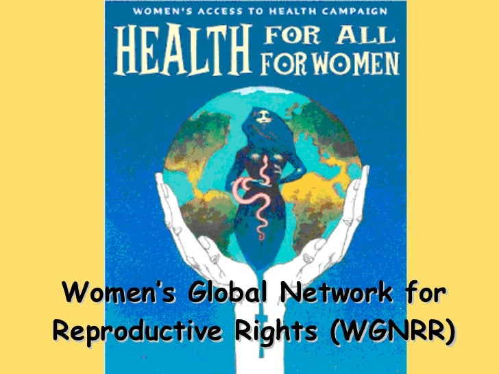 Women's Global Network for Reproductive Rights (WGNRR)