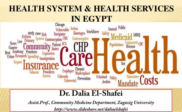 HEALTH SYSTEM & HEALTH SERVICES IN EGYPT