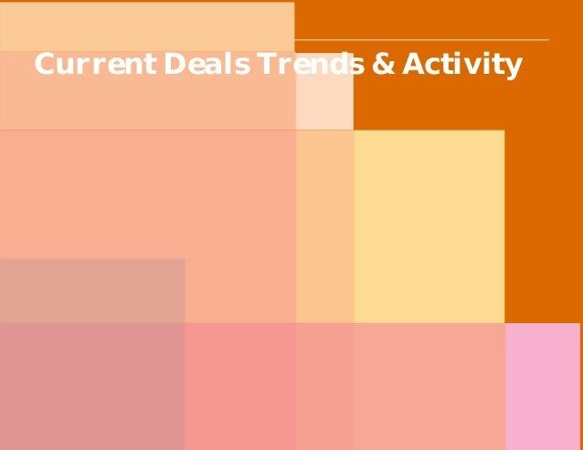 PwC Current Deals Trends & Activity
