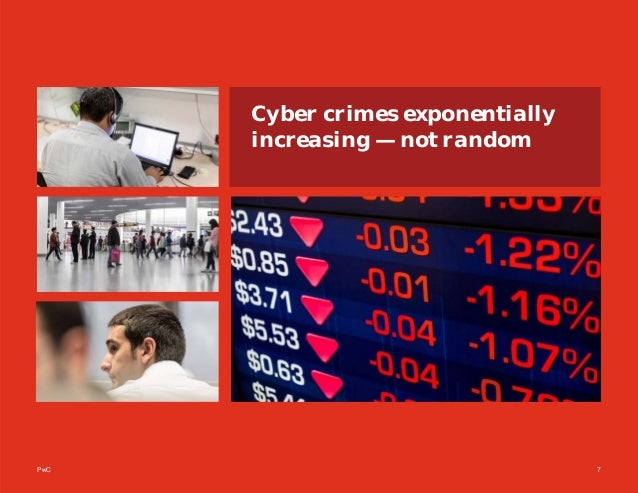 PwC 7 Cyber crimes exponentially increasing — not random
