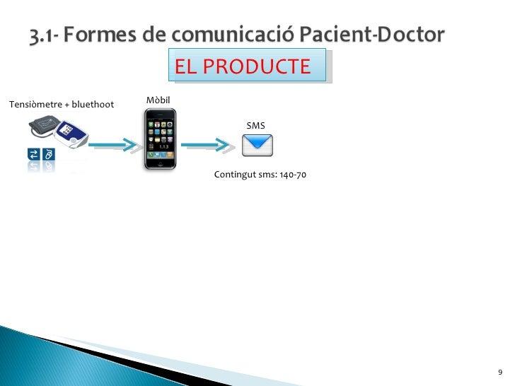 Contingut sms: 140-70 Tensiòmetre + bluethoot Mòbil SMS EL PRODUCTE
