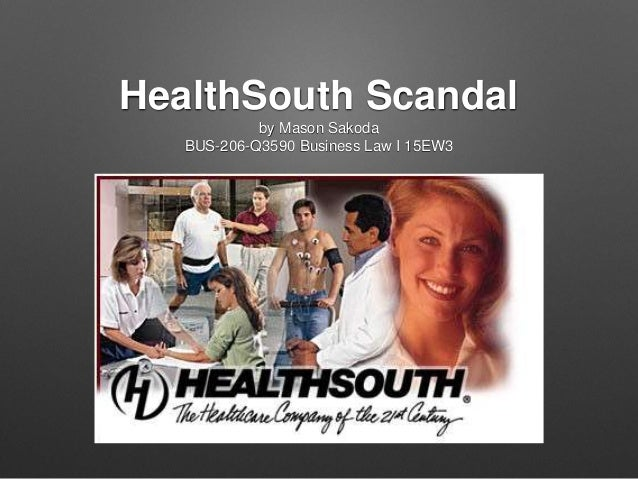 Lessons learned from the healthsouth fraud