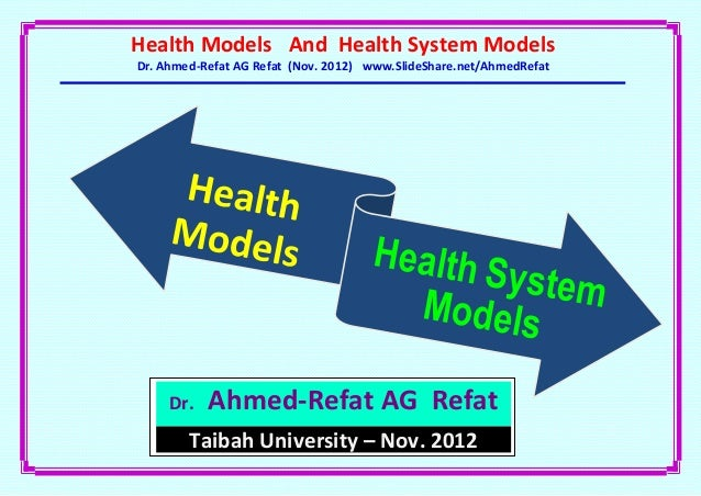 the roemer model of a health services system Health (care) systems and personalised medicine that culminate in the delivery of health services to the population (roemer health system take.