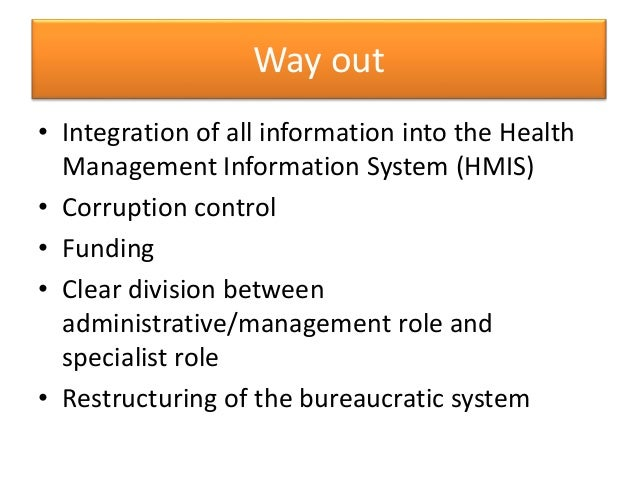 Health Systems Administration in Nigeria