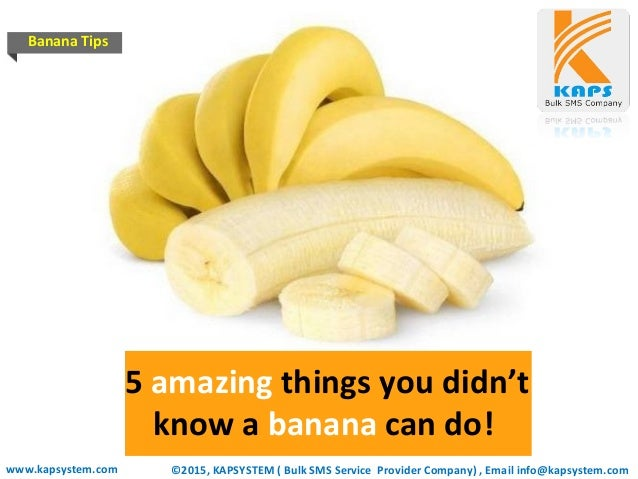 Health Tips 5 Amazing Things You Didnt Know A Banana Can Do
