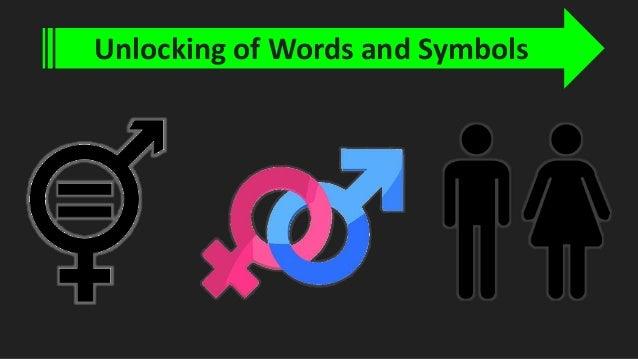 Human sexuality symbols