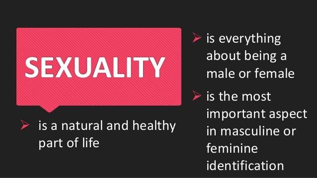 Keep a healthy human sexuality